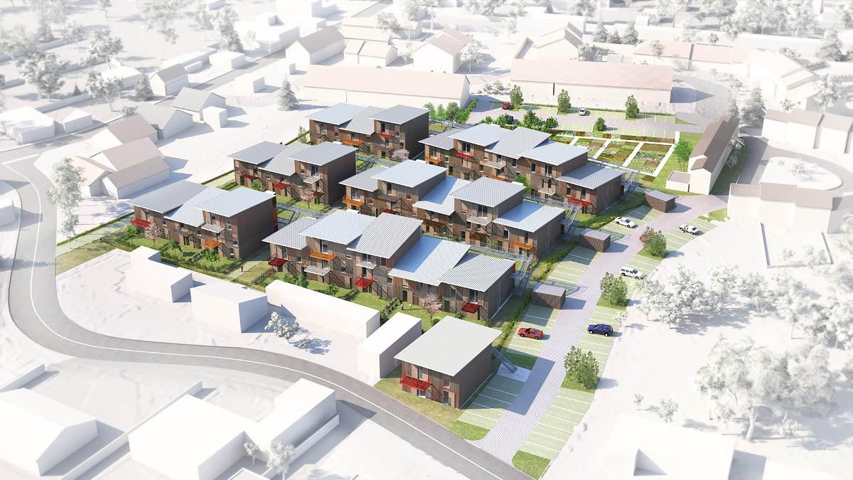 Infographie 3d en architecture r alisations 3d visualimo j r me bois ima - Planche concours architecture ...