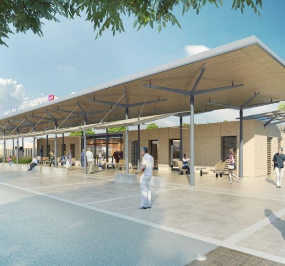 Nouvelle gare de Carpentras