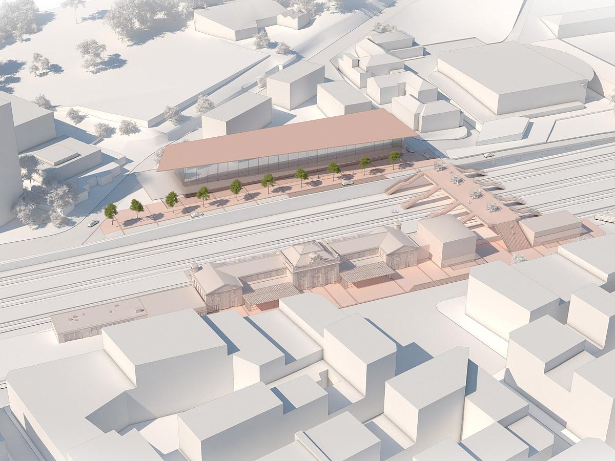 Gare du sud de la France
