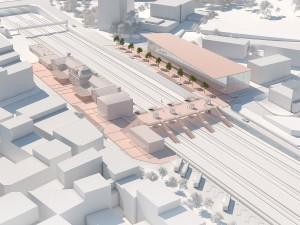 Etude 3D – Gare du sud de la France