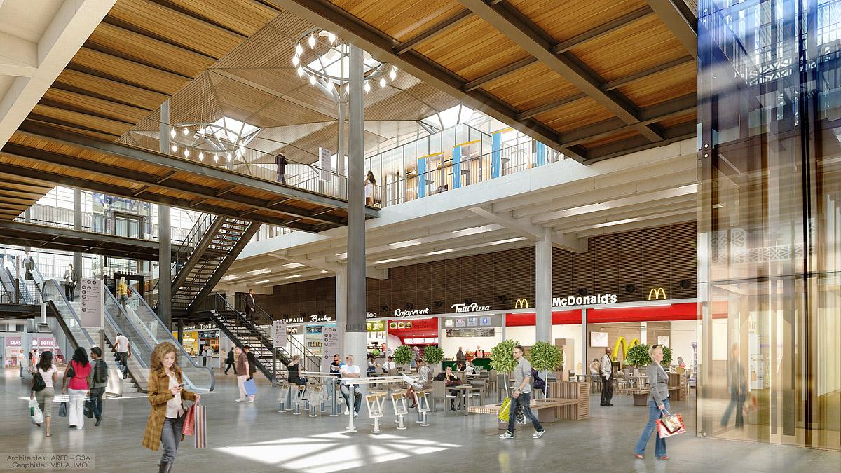 Gare de Casablanca – Programme commercial – Maroc