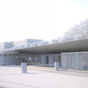 Etude complète - Gare routière du centre d'Aix-en-Provence - Jean-Marie Duthilleul