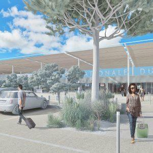 Vue 3D d'étude - Marseille Cap Janet - GPMM